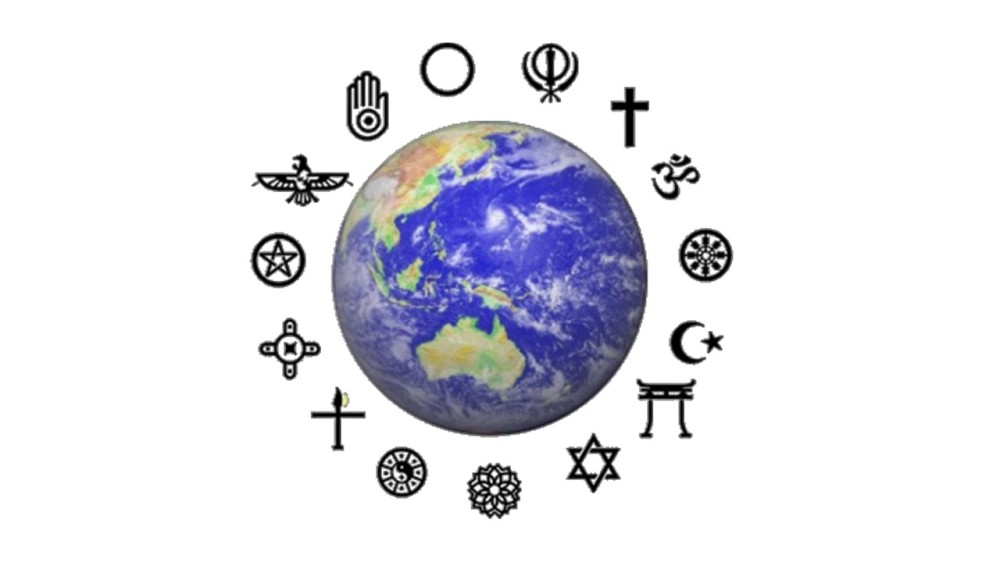 Globe & symbols